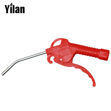 Free Shipping Red Plastic Handle Air Line Blow Off Dust Duster Removing Gun Dust Cleaning Clean Airbrush Handy Tool