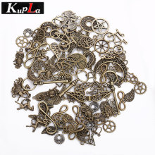 Buy Kupla Vintage Metal Mixed Charms DIY Handmade Crafts Fashion Accessories Retro Pendant Charms Jewelry Making C6078 for $5.27 in AliExpress store