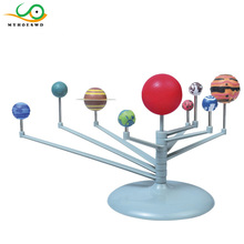 MYHOESWD Diy Solar System Planets Toy Children Creative Funny Popular 3D Plastic Planets Science Model Assembling Toys Education(China)