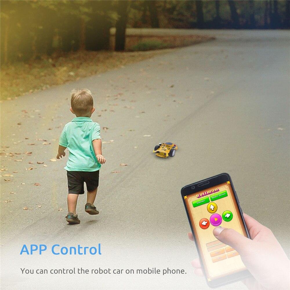 Education Visual ProgrammingSmart Car Learning Kit For Kids Adults (2)