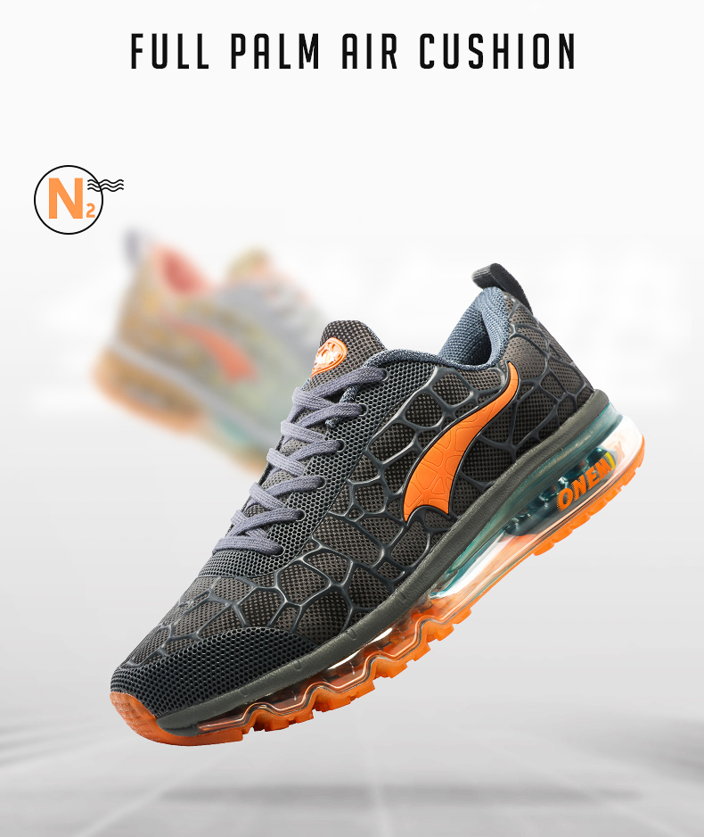 Hot onemix 17 Men Air Running Shoes Outdoor sport shoes Breathable Mesh Walking Sneakers Lightweight Breathable Athletic Shoes 4