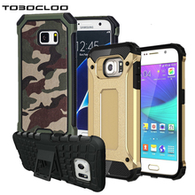 Tobocloo Kickstand Armor Hard Rugged Rubber Case Cover For Samsung Galaxy S5 S6 S7 edge S8 PLUS A3 A5 2016 2017 J5 J7 J2 PRIME