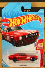 New Arrivals 2017 8a Hot Wheels 1:64 g7 mustang Car Models Collection Kids Toys Vehicle For Children(China)