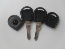 Brand New Uncut Blade For VW Jetta Transponder Key Shell With Left Blade Replacement  Cover