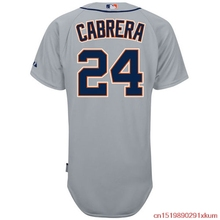 MLB Men's Detroit Tigers Miguel Cabrera Baseball Gray 6300 Player Authentic Jersey(China)