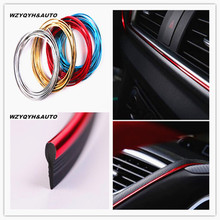 5M Car-Styling Decals Flexible Interior Decoration Auto Accessories Car Stickers Case Alfa Romeo Audi S Line Car Styling