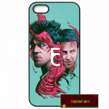 Fight Club Brad Pitt stylish Cover case for iphone 4 4s 5 5s 5c 6 6s plus samsung galaxy S3 S4 mini S5 S6 Note 2 3 4  DE0086