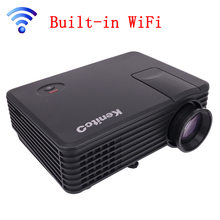 Factory Direct Sale 800*480 Portable Mini HD 3D Projector 1800 Lumens Support RED/BLUE 3D Moive Multimedia Home Projector