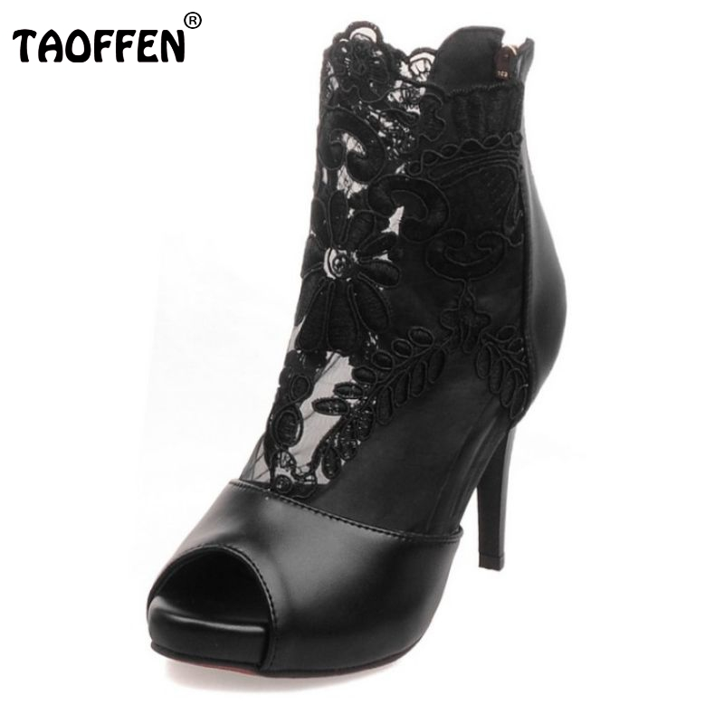 sexy women open toe sandals female fashion lace shoes thin high heel footwear new arrival zipper heeled shoes size 31-43 PA00130<br><br>Aliexpress