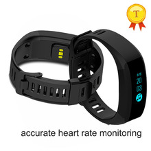 best selling Bluetooth Smart Wristband Bracelet Fitness Heart Rate Monitor anti-lost OLED Screen smartBand PK MI BAND 2 - HZL ELECTRONIC store