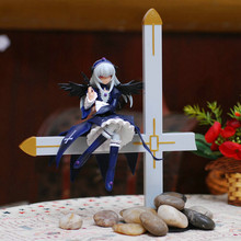 Free Shipping Rozen Maiden Mercury Lampe Sit on Big Crosee 1/8 Scale Action Figure Toy SGFG037