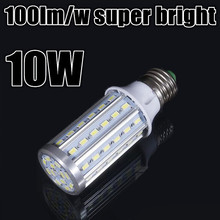 100lm/w super bright CE ROHS certified 3 years warranty 50000 hours life AC110V 220V 230V 240V 50/60Hz E27 10W LED light bulb(China)