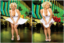 Custom Coco Nicole Austin Poster Sexy Girl Sticker Marilyn Monroe Wallpaper Coco Austin Wall Stickers Kids Home Decor #PN#2455#(China)