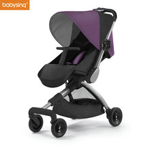 Babysing H-GO High Landscape Lightweight and Foldable Stroller Baby Pram Kids Pushchair Travel stroller on the Airplane(China)