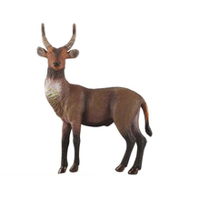 2017 New 1pcs wild goat Model Zoo plastic Solid  sheep Classic Toy domestic Animal Model Wild animals kids children gift toys