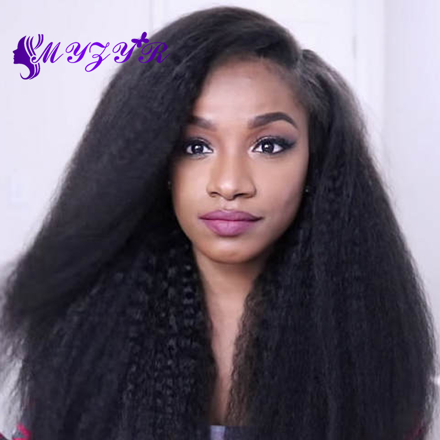 8A Brazilian Kinky Straight Hair Weaves Coarse Yaki Human Hair Weaves 100% Virgin Human Hair 3 Pcs / Lot<br><br>Aliexpress