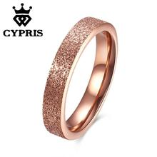 WHOLESALE TGR089-B Fashion rose gold polish popular ring tungsten women lady hot unique opal crystal wholesale hot cool punk