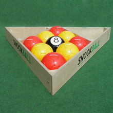 3# 10 Pcs Gaint Snook Ball Snooker Soccer Ball 7 Inch Snookball Game Huge Billiards Pool Football Include Air Pump Toy Poolball