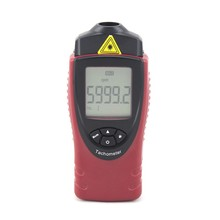 Handheld Digital Laser Tachometer 30000 RPM Meter Non-Contact Motor Speed Spin Rotation Speed Backlight Photo Tachometer ST8030