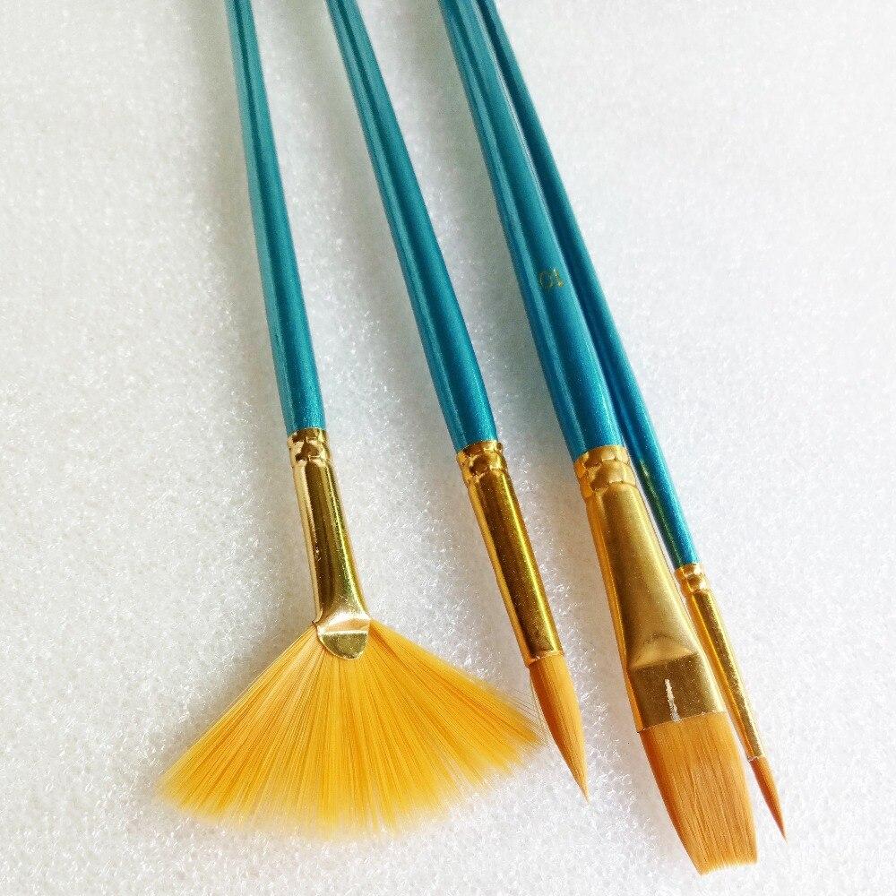 Larga plana la-2p Artista De Acero Inoxidable Espátula pintura Cuchillos Aceite Acrílico