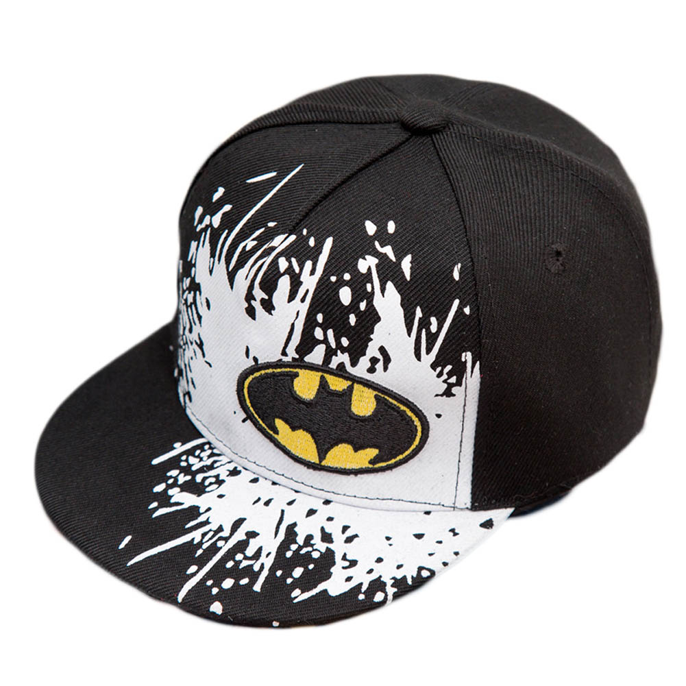2017 new Snapback Caps Gorras Unisex Kids Hip-hop Snapback Batman Cap Children Adjustable Flat Hats<br>