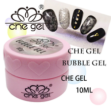 CHE Gel 10ml Snake Skin Gel Nail Art Bubble Gel Nail Tips Decoration Design Soak off UV LED Diluent Glue