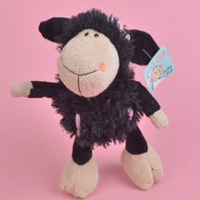 25cm Lamp Plush Toy,  Black Sheep for Cute Baby/ Kids Gift, Plush Doll Free Shipping