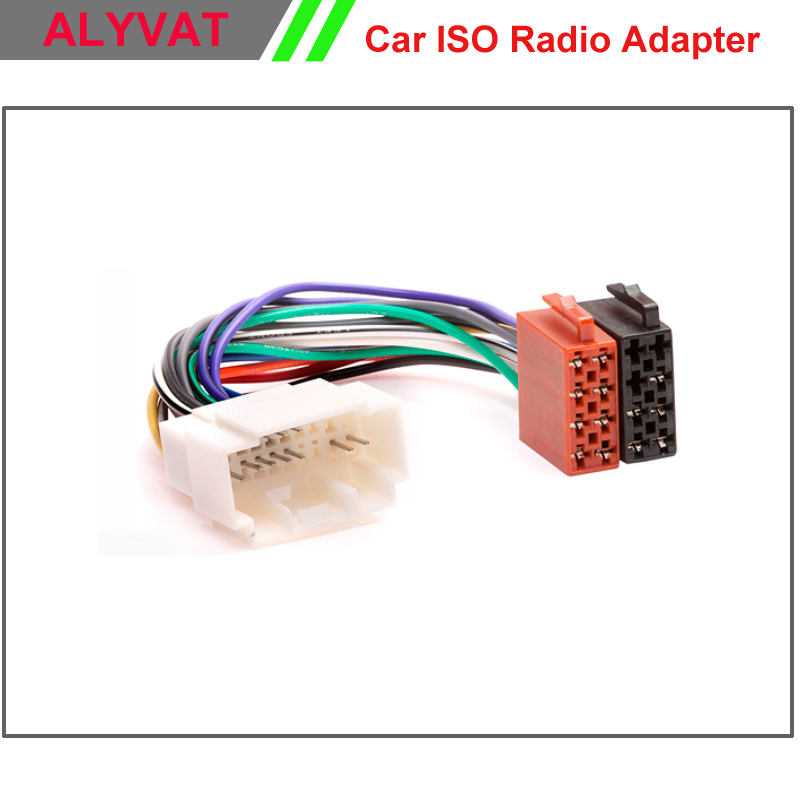 Car Stereo ISO font b Wiring b font font b Harness b font For Honda 1999 online buy wholesale suzuki wiring harness from china suzuki honda wiring harness connectors at bayanpartner.co