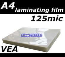 A4 Laminating film apply to Office & School & Home Supplies  Size 216*303MM 125mic A4 20pcs/bag photo paper Laminating film