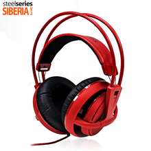 SteelSeries Siberia v2 200 Comfortable Gaming Headsets with microphone and volume control headphones high quality for PC gamers