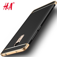 Luxury Metal plating Shockproof Plastic Phone Case For Xiaomi Redmi Note 4 4X PRO Case cover for Xiaomi Redmi Note 4X 4 pro