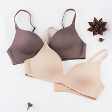 Thin wireless bra accept supernumerary breast seamless lingerie small push up young girl comfortable bra