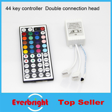 44 Keys LED IR RGB Controler LED Lights Controller IR Remote Controller Box For RGB SMD 3528 5050 LED Strip(China)