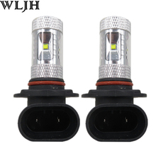2x 30W Epistar Led Chip 9005 HB3 Led Bulb Light Projector Lens 800 Lumens Car Auto DRL Daytime Running Fog Light Lamp Warranty