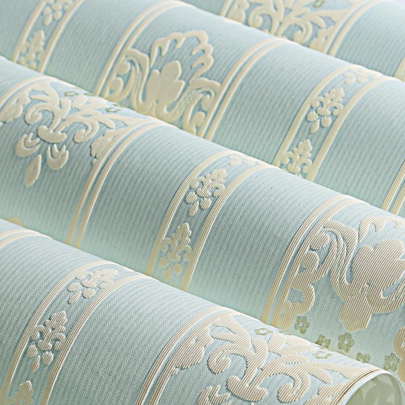 beibehang fashion Vertical stripes wallpaper  papel de parede 3D bedroom TV background wall desktop wall paper rolls flooring<br>