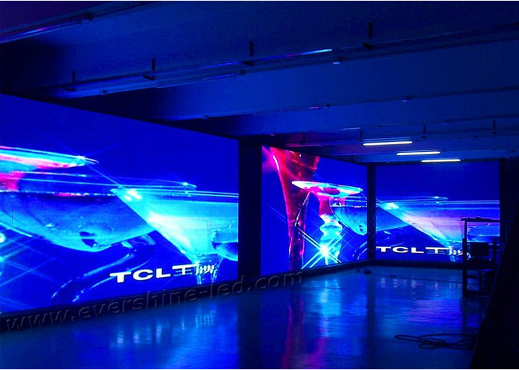 Indoor LED Display Project case (15)