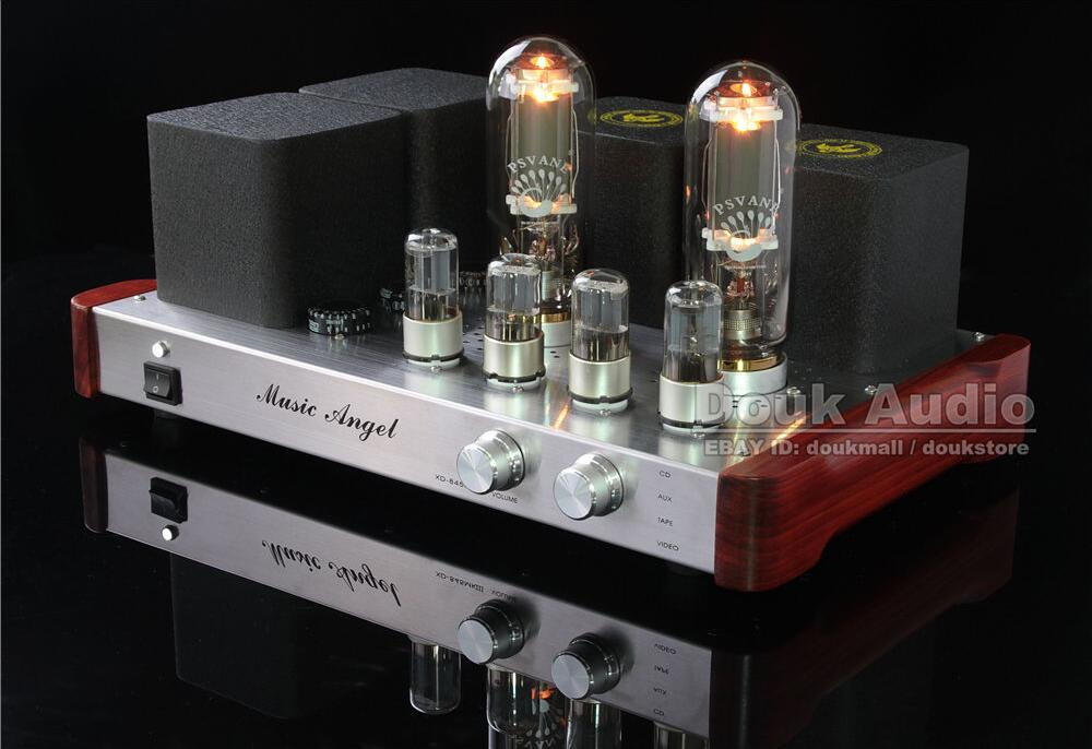 Music Angel XDSE 845 x 2 Directly heated Single Terminal Pure Class A Rectification Valve Vacuum Tube Integrated Amplifier(China (Mainland))