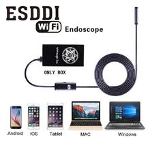 Esddi WIFI Magic Box Camera Inspection Endoscope For iOS Android Phone Compact Professional Snake Inspection Tube Pipe Box Gift(China)
