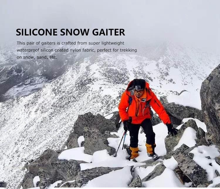 Außen Skifahren Wasserdicht Schuhe Abdeckung Atmungsaktiv Klettern Anti Schnee