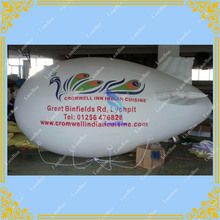 4m/13ft Long Phoenix White Inflatable Airship / Blimp / Zeppelin with your LOGO for Different Events / Digital printing