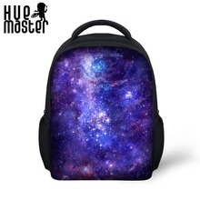 Backpack Galaxy Universe Limieless Space Sarry Cool 3D Prints 12 Inch for Children Kindergarten Kids Only Mini Soft Travel(China)