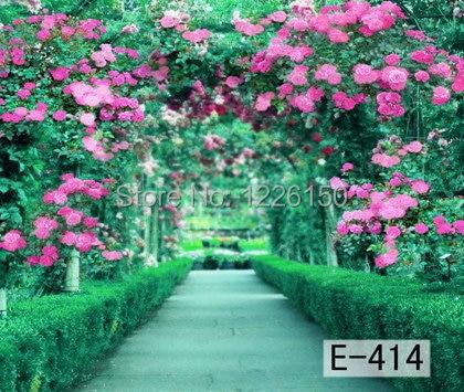 Free Digital spring flower Backdrop E-414,10*10ft vinyl photography,photo studio wedding background backdrops,fondos fotografia<br>