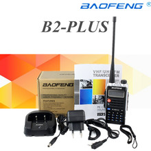Baofeng BF-UVB2 Plus Walkie Talkie 8W High Power 4800mAh Li-ion Battery Baofeng Dual Band Two Way Radio Ham Radio UVB2(China)