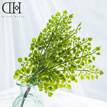 Original Dream House DH FS137229 fake ginkgo Leaf artificial greenery garden decoration DIY artificial plants home decoration(China)