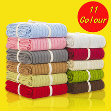 Comfortable warm knitted wool blanket rhombus Sofa/Bed cover quilt Knitted blanket 100% Cotton 110*180/200*180 cm thread blanket