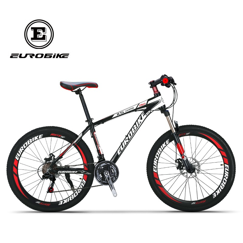 EUROBIKE Shimano 21 Speed Aluminum Mountain bike Dual Disc Brake Mountain bicycle(China (Mainland))