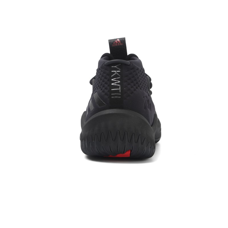 reputable site 4440c b1bc9 Adidas DAME 4 Core Black - Basketstarz