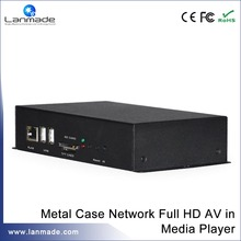 Metal case full HD AV in network media player