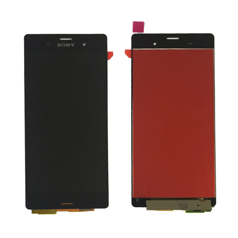 5.2 inch Original Sony Xperia Z3 D6603 D6653 L55t LCD Display Touch Screen Digitizer Assembly frame