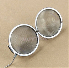 Dia 4/6/8cm Stainless Steel Tea Strainer Egg Shaped Spice Mesh Tea Ball Infuser Filter